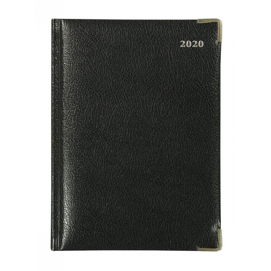DIARY 2020 COLLINS MANAGEMENT DTP BONDED LEATHER BLACK see variants for sizes