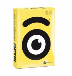 COPY PAPER OPTIX A4 SUNI YELLOW  PK500