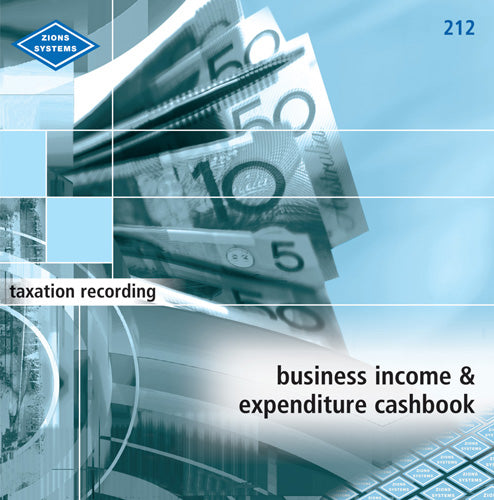 BUSINESS INCOME & EXPENDITURE BOOK ZIONS 212
