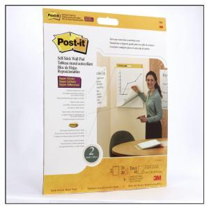 WALL PAD POST-IT 566 508X584MM SELF-STICK PK2