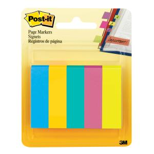 POST- IT PAGE MARKERS 670-5AU ASST ULTRA Pack of 500