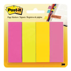 POST- IT PAGE MARKERS 671-4AU ASST ULTRA Pack 200