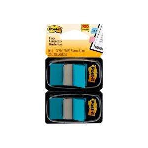POST- IT FLAGS 680-BE2 100 TWIN PACK BLUE 100