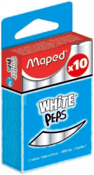 CHALK MAPED WHITE Pack of 10