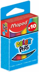 CHALK MAPED COLOURED ASST Pack of 10
