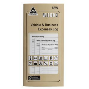 VEHICLE & BUSINESS LOG BOOK WILDON 86W