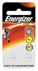 BATTERY ENERGIZER A76 CALCULATOR/GAME PK2