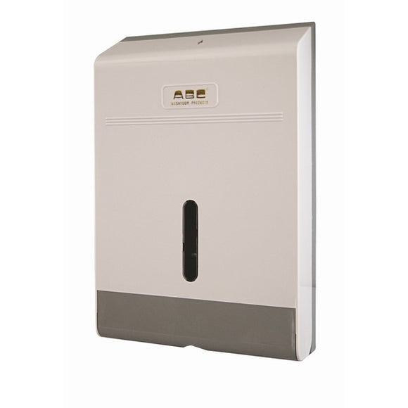 ABC SLIMLINE INTERLEAVED HAND TOWEL DISPENSER
