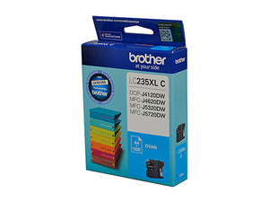 Brother LC235XL Cyan Ink Cartridge - 1,200 pages