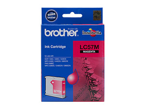 Brother LC57M Magenta Ink Cartridge - up to 400 pages