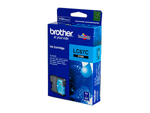 Brother LC67C Cyan Ink Cartridge - 325 pages