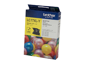 Brother LC77XL Yellow Ink Cartridge - 1,200 pages