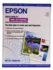 Epson S041068 Photo Quality Paper A3 100 Sheets 102gsm
