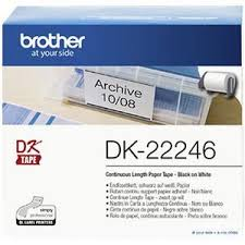 Brother DK22246 White Roll - 102mm x 30.48m