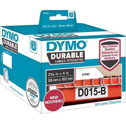 Dymo Label Writer Durable 59mm x 102mm White Labels