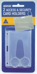 CARD HOLDER ACCESS & SECURITY KEVRON PKT of 2