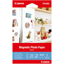 Canon Magnetic Photo Paper - 5 sheets