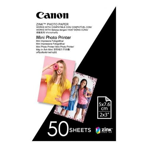 Canon Mini Photo Printer Paper - 50 sheets
