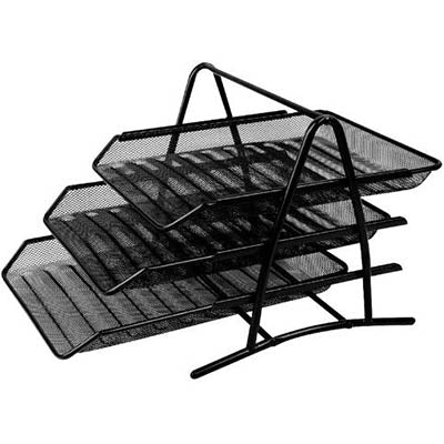 DOCUMENT TRAY MESH 3 TIER