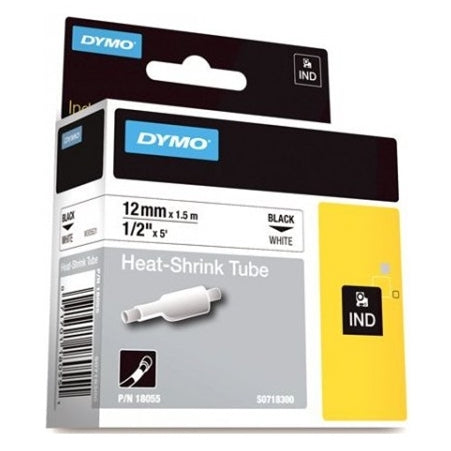 RHINO TAPE 12MM HEAT SHRINK WHITE