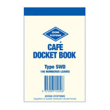 DOCKET BOOK ZIONS CAFE SWD See variants for Qty Discounts