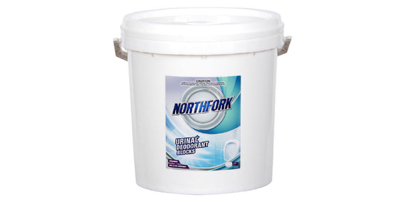 URINAL DEODORANT BLOCKS NORTHFORK 4KG