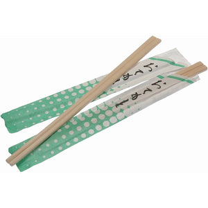 WRAPPED WOODEN CHOPSTICKS Pack of 100