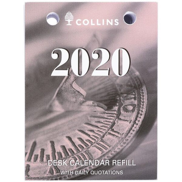 Collins Desk Calendar Refill TOP PUNCH