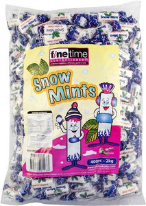 Snow Mints 2KG 400 pieces.
