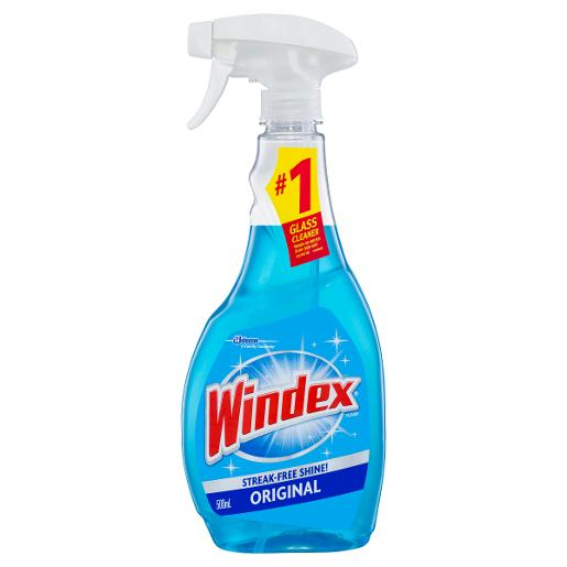 Windex BLUE GLASS CLEANER SPRAY 500ML
