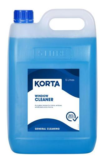 Korta Window, Glass & Mirror Cleaner 5 Litre