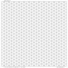 Panther Graph Pad A4 25 Leaf ISOMETRIC 10mm