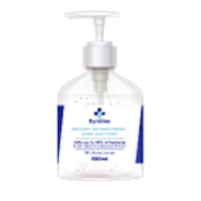 Dynatise Hand Sanitiser Gel - 500ml Pump Bottle