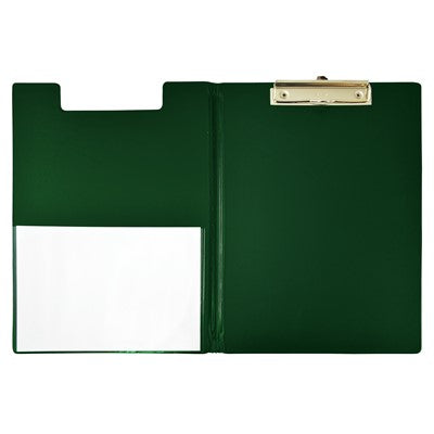 Clip Folder Deli A4 Green PVC