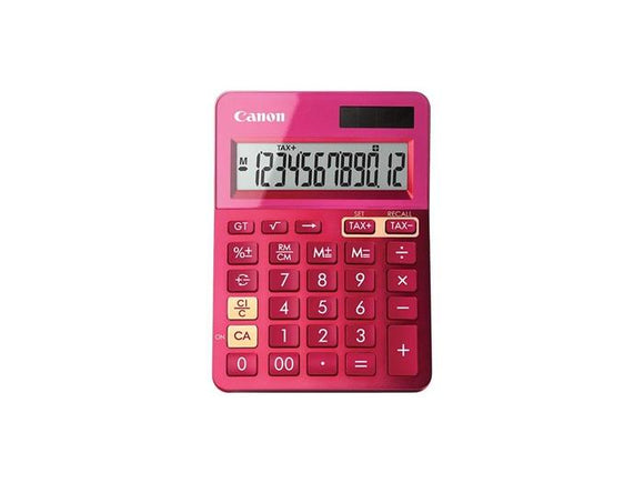 Canon LS123MPK Calculator - Mettalic Pink