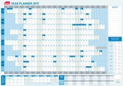 PLANNER YEARLY 2020 SASCO 870MMX610MM