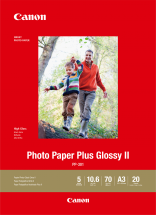 Canon A3 Photo Plus Glossy paper - 20 Sheets - 265gsm