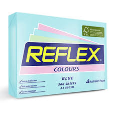 COPY PAPER REFLEX A4 TINTS BLUE PK500