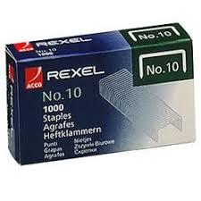 STAPLES REXEL NO.10 BX1000