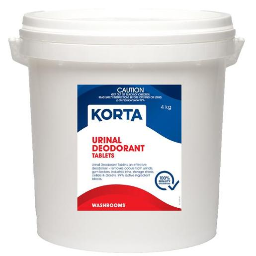 URINAL DEODORANT BLOCKS KORTA 4KG