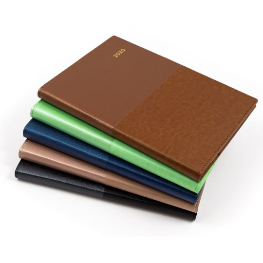 DIARY FINANCIAL YEAR COLLINS A4 VANESSA WTO 1/2 HOURLY Various Colours