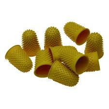 THIMBLETTES SUPERIOR SIZE 3 YELLOW  BX10