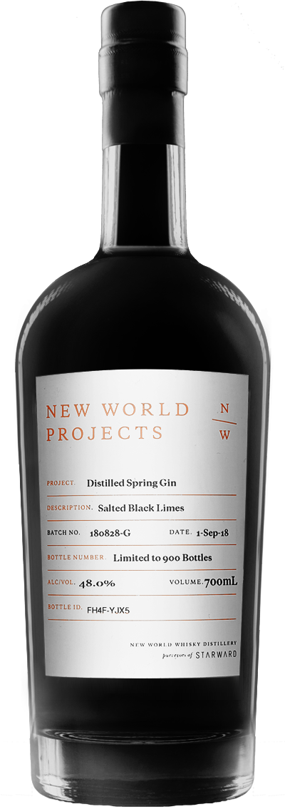 Spring Salted Black Lime Gin