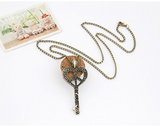 Key Long Necklace
