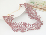 Dusty Pink Lace Choker