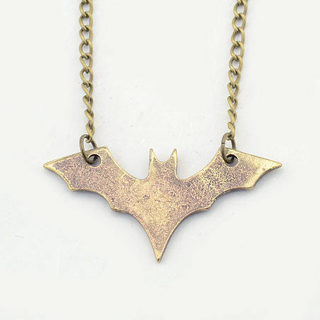 Bat-Inspired Long Necklace