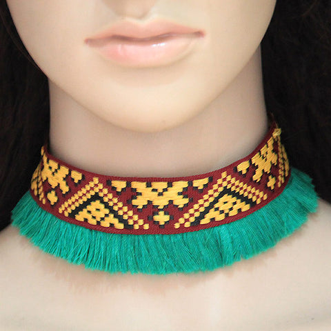 Emerald Green Choker