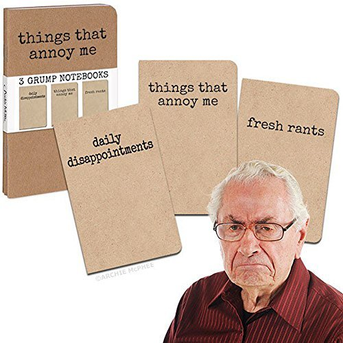 3 Grump Notebooks