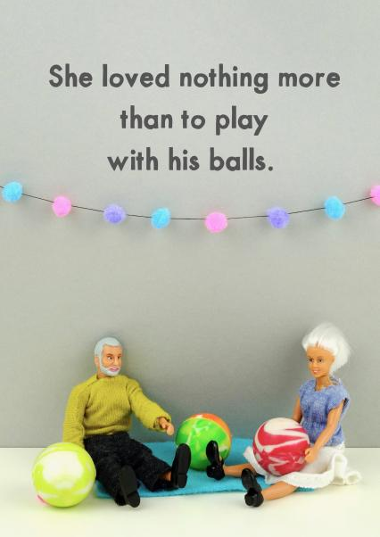 Play With His Balls