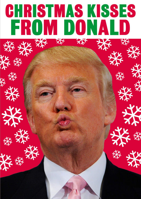 Christmas Kisses from Donald